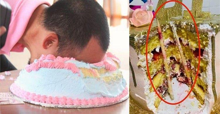 Cảnh báo: Úp bánh kem sinh nhật vào mặt người khác và nguy hiểm khôn lường không ai ngờ tới