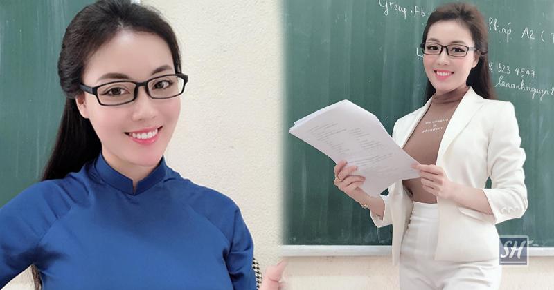 """Âu Hà My bị ȶố mua ֆʊấȶ vào lớp chuyên, """"ʍù"""" tiếng Pháp nên sinh viên chỉ cần khen cô giáo xinh là điểm cao"""
