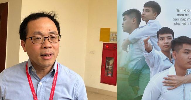 Hiệu trưởng ĐH Y Hà Nội: Nên động viên nam sinh 10 năm cõng bạn đến trường, khoảng cách 0,25 điểm là khoảng cách của hàng chục thí sinh
